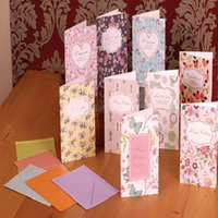 Wholesale Mini floral rural small pure and fresh and birthday cards thank you cards