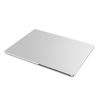 aluminium pads - Aluminium Mouse Pad for MAC PC Silver Fine and Smooth Hand Slim Design Easy To Carry Mousepad Gamer Good Quality DHL Free