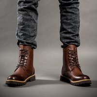 dr martens boots - Winter ankle Style Dr Genuine Leather Marten Boots Martin Shoes Men Dr Designer waterproof Boots