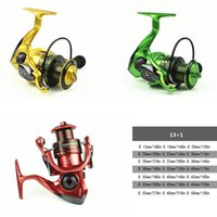Wholesale Metal carretilha pesca Fishing Reel Spinning Carpfishing Wheel BB Series High Quality moulinet peche