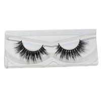 Wholesale Light Soft Sterilized False Eyelashes Mix Size Hypo Allergenic Crisscross Handmade Eyelash Extensions with Mink fur F23