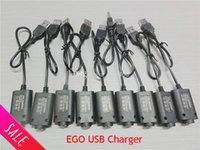 Wholesale New Ego usb charger for electronic cigarette battery ego t ego w ego c e cig usb cable charger USB ego Charger for e cig DHL