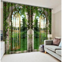 Wholesale New D Dream Gate Custom Curtains Shading Top European Standards Not Fade Children s Curtain for Living Room A004