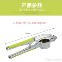 Wholesale IKEA stainless steel garlic press garlic is Daosuan is garlic peeling garlic is garlic stir Kitchen
