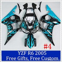 Wholesale Motorbike fairing set for Yamaha YZF R6 Motorbike Fairing Kit YZF R6 Custom Painting Motorcycle Fairing OEM quality