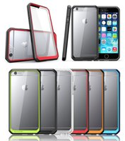 Wholesale Supcase For iPhone s s s plus apple splus Transparent Hard Cell Phone Case With packaging DHL Free