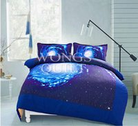 3d bedding set king size - Universe Galaxy Nebula D Printed Comforter Bedding Sets Pieces HomeTextile With Queen King Size New Arrival