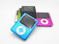 Wholesale 100 New portable mini sport MP4 music player mp4 inch Screen Support Micro SD Card TF Card FM recorder