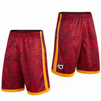 Wholesale Fashion Summer Brand KD Kevin Durant Sport Gym Basketball homme Bermuda Men Short Loose Running Men s Shorts Plus Size XL