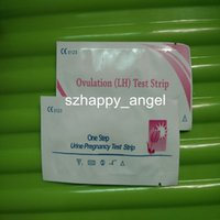 Wholesale 100 Pregnancy Strip Test Ovulation Test Strip CE Approved Fast Rapid Test