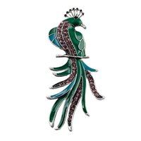 american paint - Paint rhinestone brooch wedding brooch Birds fashion jewelry good gift
