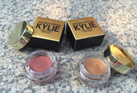 Wholesale 2016 Kylie Creme Shadow Copper and Rose Gold Colors Kylie Jenner Birthday Limited Edition Metallic Eye Shadow Cosmetics DHL Free