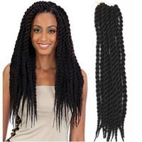 Wholesale Havana Mambo Twist Crochet Braids Hair in g pc crochet braid hair senegalese twist inches synthetic hair for braid