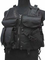 airsoft police vest - Hot Selling Military Tactical Airsoft Vest Molle Nylon Hunting Vests Combat Paintball Tactical Police Vest