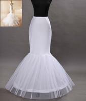 Wholesale 100 Satisfaction Wedding Accessories Petticoat Vestido Longo Cheap Crinoline Underskirt Hoop Skirt Petticoats In Stock