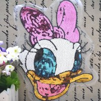 bead embroidery tool - Lace accessories cartoon Aberdeen chapter pattern garment accessories cloth paste sequins beads patch Tang Laoya factory direc