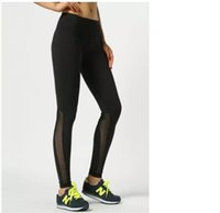 Wholesale 2016 women basketball running sports lulu pants thermal muscle bodybuilding gym compression tights pants LU yoga Capris