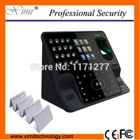 Wholesale Face and Fingerprint Biometric Time Attendance System with ID card iFace102
