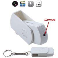 Wholesale Mini HD Portable Mini DV SPY USB flash DISK Cam Hidden Camera U disk Motion Detector Video Recorder DVR U disk spy camera