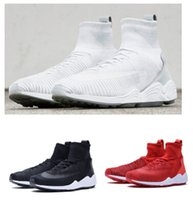 angle mesh - 2016 Fashion Mens Boots Air zoom mercurial flykint Black White Red Angle Boots EUR40
