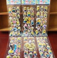 Wholesale Poke go D Stickers new children cartoon Charmander Jeni turtle D PVC Stickers x7 cm
