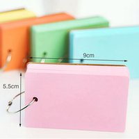 Wholesale 4pcs Color Pages Mini Memo Pad Notebook Gift Stationery School Office Home Supplies Portable Notepad Prize