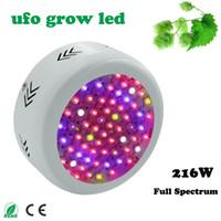 Wholesale High Power Full Spectrum W UFO Led Grow Light for plants Flowering lighting Red Blue warm white white IR UV