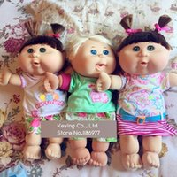 baby cabbage patch - New Arrival Rare Cabbage Patch Kids Appease Accompany Sleep Cute Vinyl Doll Plush Toy Girl Baby Gift Collection