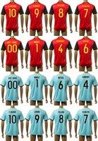 2.016 euros del fútbol de Bélgica jerseys casa Fuera Tailandia Maillot de las camisas del fútbol Mignolet De Bruyne Lukaku Witsel E. Hazard Fellaini Kcompay