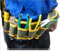 Wholesale Bolsa New Arrival Summer Style Oxford Tool Bag Electrician Fashion Multi Pocket Tool Belt Bags cm Electrician Tool