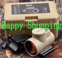 Wholesale Holographic Trijicon MRO Style Red Dot Sight Scope With Low Mount And QD Mount For Hunting Black Sand