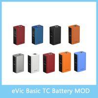 battery pics - Joyetech eVic Basic TC Mod with Max W Output mAh Battery Capacity Best Match with Cubis Pro Mini Original VS Smok OSUB Istick Pic