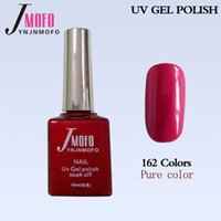Wholesale JMOFO high quality ml pure color colors soak off nail glue nail gel polish