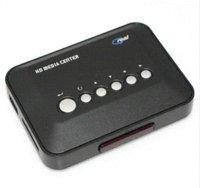 Wholesale 720p HD Media Center Movie RM RMVB AVI MPEG MKV MP4 tv hd media video player Box USB SD MMC HDD Player