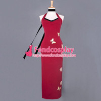 ada wong cosplay - Resident Evil Ada Wong Dress Qipao Movie Cosplay Costume Tailor made