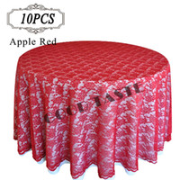 Wholesale Lace Table cloth Overlays Lace Table Overlay Dining Table Cloth Tablecloths White Table Cover Wedding Decoration Table Covers for Event Tabl