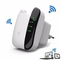 Wholesale Wireless N Wifi Repeater n b g GHz Wireless Routers Mbps Expander Signal Booster Extender WIFI Ap Wps Encryption