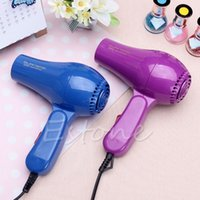 Wholesale Mini Hair Blow Dryer W Traveller Hair Dryer Compact Blower Foldable Portable