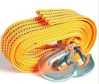 Wholesale M Tons Tow Cable Tow Strap Towing Rope with Hooks for Heavy Duty Car Emergency