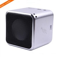 active loud speakers - MD07D Original Quality Super Bass Speaker USB Active Stereo Loud Speaker with Earphone Slot FM Radio Support Micro SD TF Card