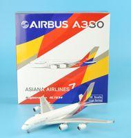 asiana airlines - Phoenix Korea Asiana Airlines A380 HL7634 plane model aeroplane model aircraft