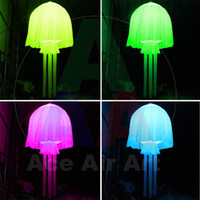 Wholesale hot sale good quality lighting custom color m inflatable jellyfish for party bar event decoration