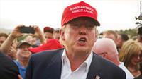 Wholesale Make America Great Again cap Hat Donald Trump Hat Republican Adjustable Mesh Cap Golf Patriots Hat red and white