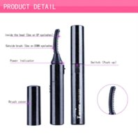 best electric eyelash curler - 2015 Real Promotion Best Doubleside heated Extensions Eyelash Curler Styling Tools Cosmetics Mini Portable Electric Eyelashes