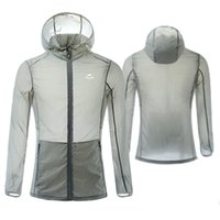 Wholesale hot Summer Sun Sports Protective Cloth Long Sleeve UV Sunscreen Zipper Thin Coat