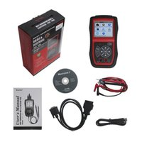 Wholesale 2016 Hot selling Original Autel AutoLink AL439 OBDII Code Reader Support English Spanish and French