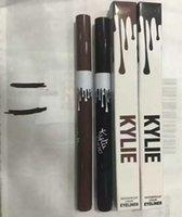 best gel eyeliner pencil - 2016 Hot Kylie liquid eyeliner Brown and Black gel eyeliner High quality Best price
