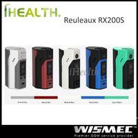 Wholesale Wismec Reuleaux RX200S W TC Mod Powred by Batteries Firmware Upgradeable VW TC Ni TC Ti TC SS TCR Output Modes Original