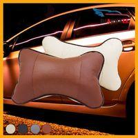 Wholesale 1 Pair Protect Neck Car Headrest Pillow Car Covers Vehienlar Plaid Pillow Car Seat Cover Headrest Neck Pillow