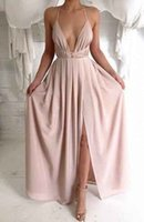 Wholesale Hot Sale Luxury Womens Ladies Boho Sexy Summer Beach Evening Party Long Maxi Chiffon Dress